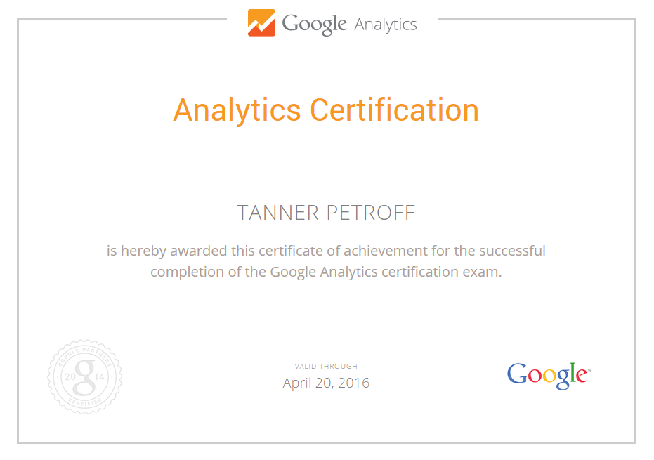 Tanner Petroff - Utah SEO & Inbound Marketer | TannerPetroff.com