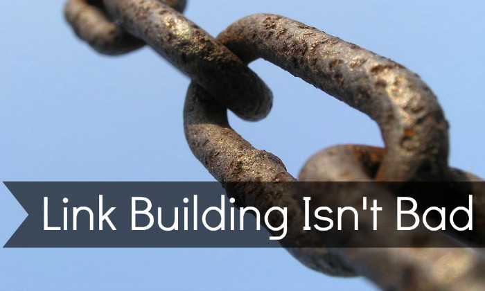 Link Building Isn't Bad - TannerPetroff.com