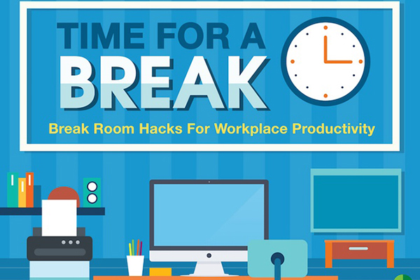 Taking Breaks for Greater Productivity [INFOGRAPHIC]